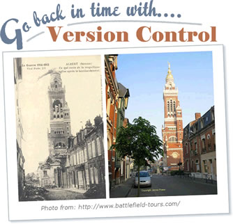 Version Control allows you to go back in time