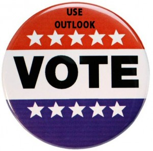 Use Outlook to vote