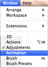 locate animation pane