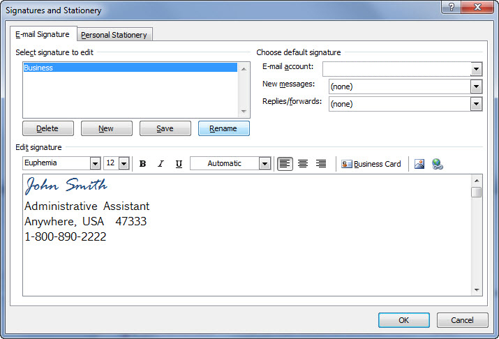 Daftar Harga How To Quickly Add The Email Signature To The