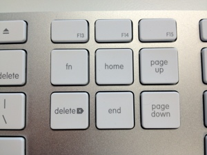 Function Key on the Apple USB Keyboard