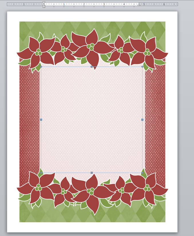 Holiday Stationary Template ready for use