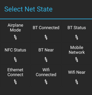 Screenshot showing Tasker's Net States.