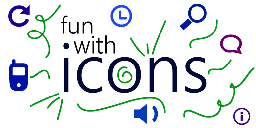 fun with icons graphic