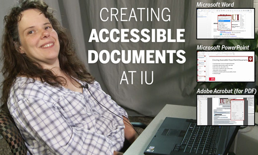 Creating Accessible Documents at IU