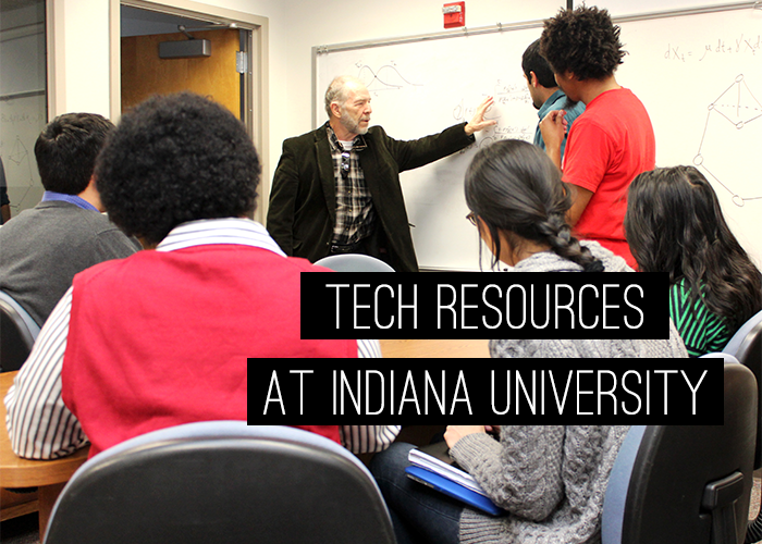 "title image that says ""tech resources at indiana university"""