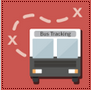 Bus tracking icon from One.IU