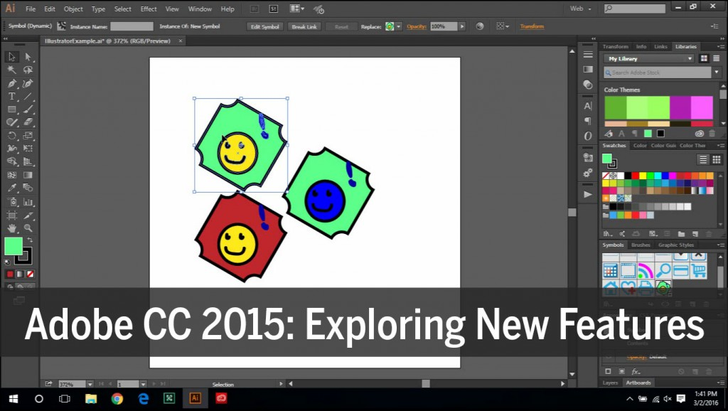 Adobe CC 2015: Exploring New Features