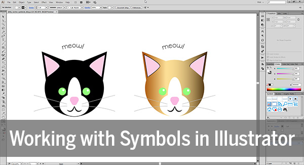 Working with Symbols in Illustrator